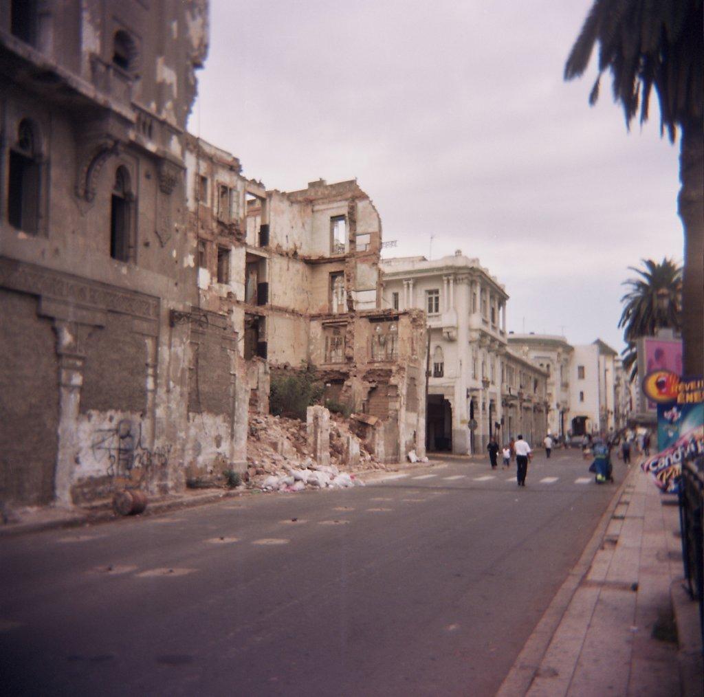 Casablanca, ville morte