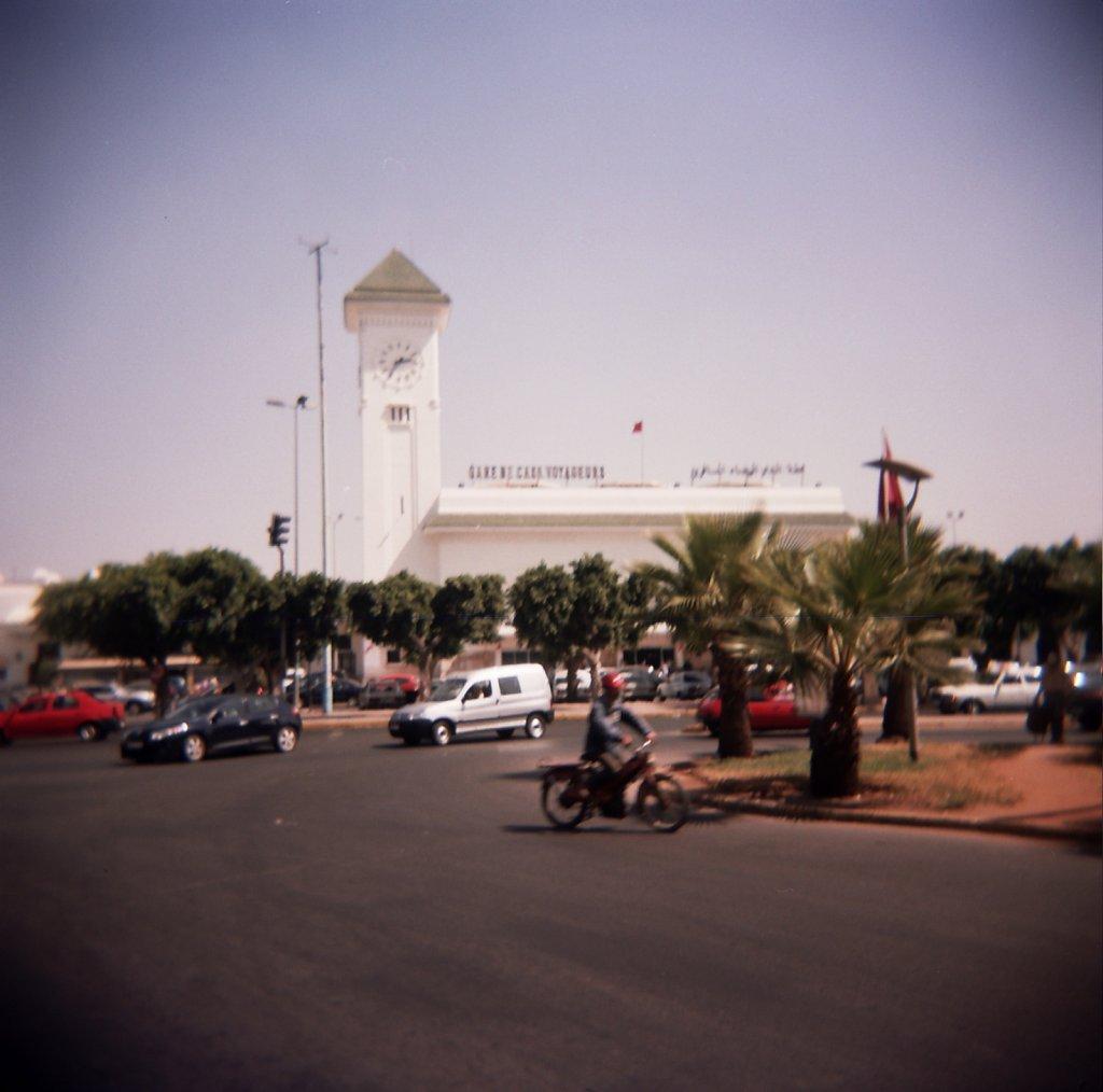 La gare de Casablanca